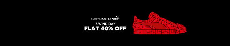 Jabong online shopping Puma Clothing Footwear and Accessories Flat 40% OFF Start Rs.240