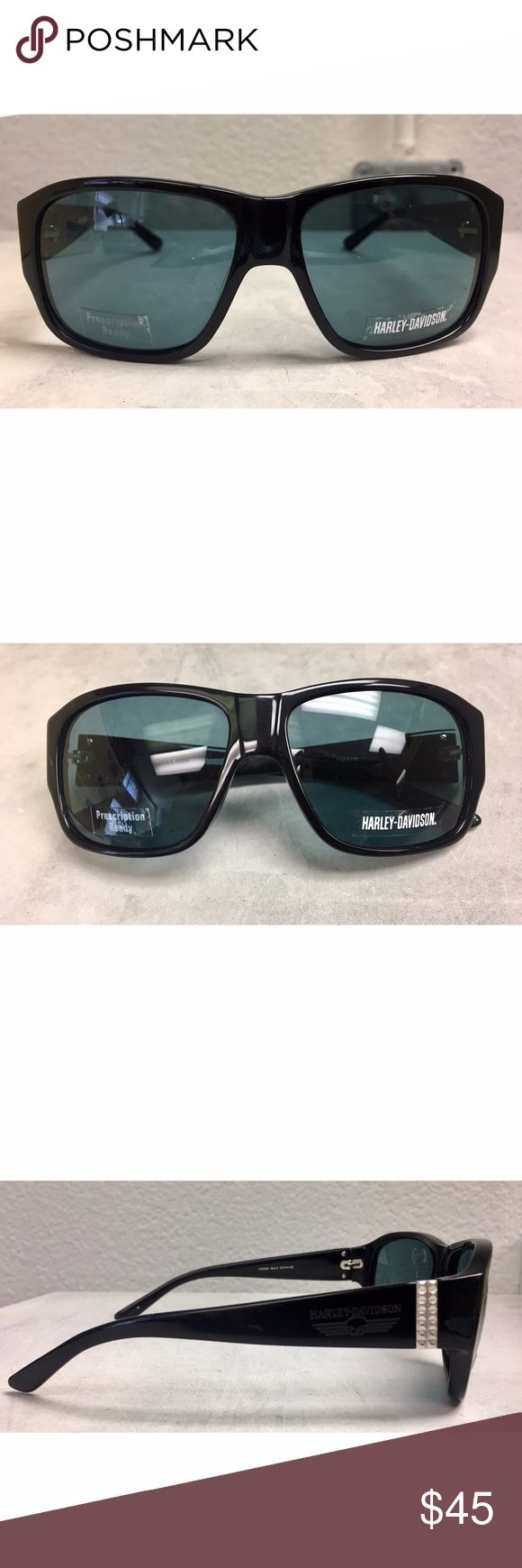 nwot harley davidson frames black plastic harley davidson prescription ready opticalsunglass frames model