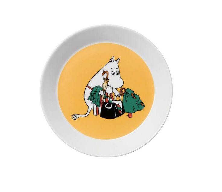 Uusi muumimamma lautanen