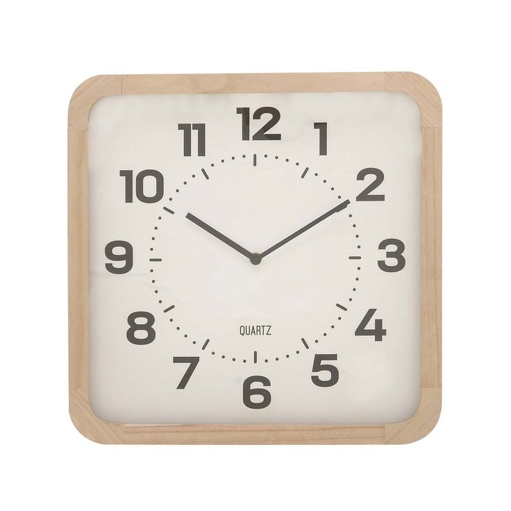 Divine Wood Table Clock