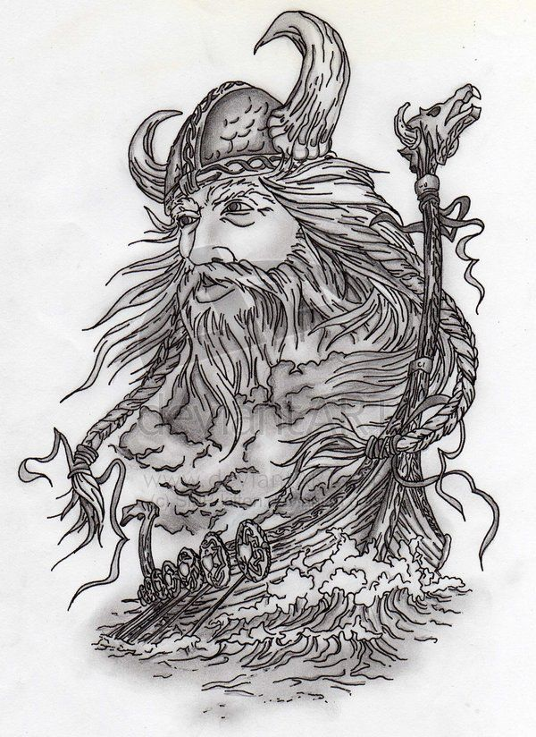 viking drawing | Viking and Ship by ~SMP-kitten on deviantART
