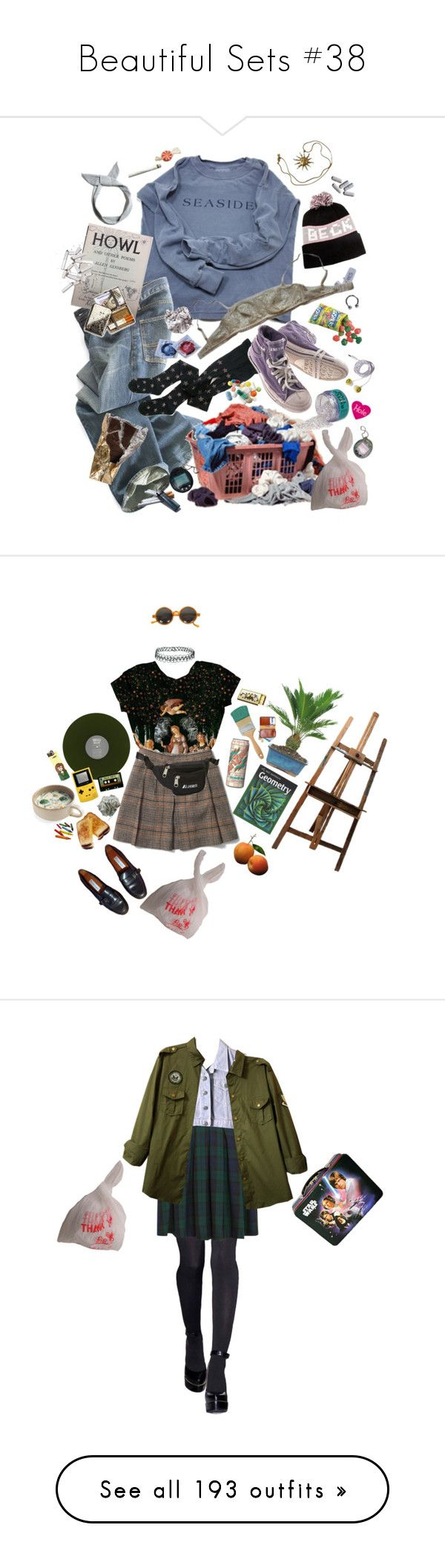 """Beautiful Sets #38"" by harleenquinzelx ❤ liked on Polyvore featuring Polo Ralph Lauren, Eres, Diesel, Pull&Bear, Anne Klein, EASEL, Etienne Aigner, Chandelier, Topshop and Michele"