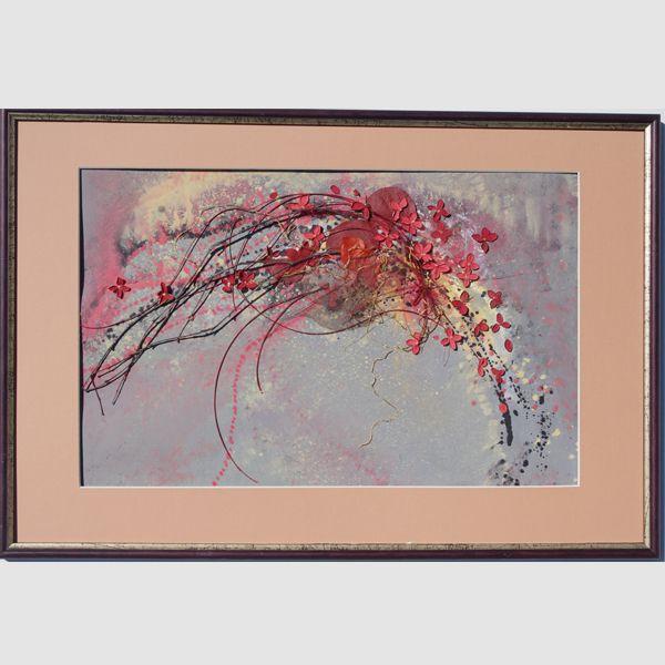 """Флористический коллаж """"Из жизни цветов"""""""