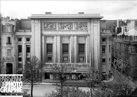 Auguste Perret, Theatre des Champs Elysees, Paris, 1913