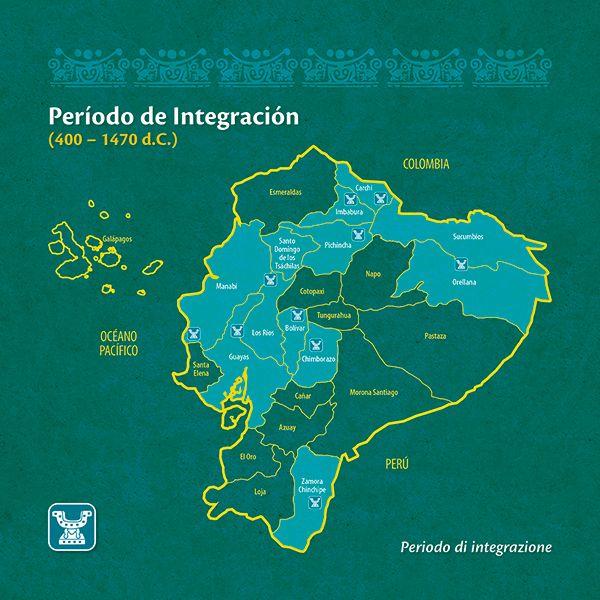 El periodo de integración es una fase caracterizada por la formación de grandes señoríos y confederaciones, y en algunos casos Ciudades y Estados.