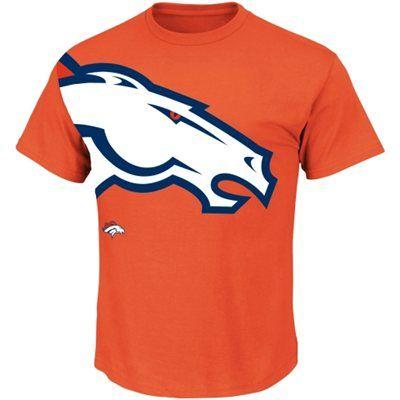 Denver Broncos Blind Pass T-Shirt - Orange