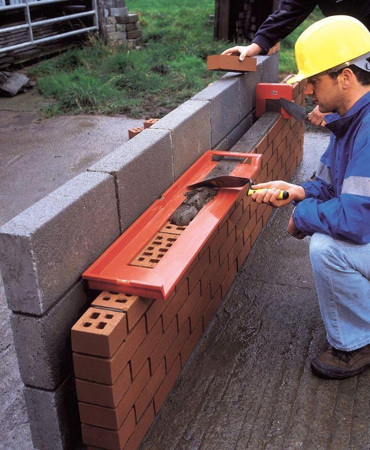 Buena idea, para no desperdiciar cemento.