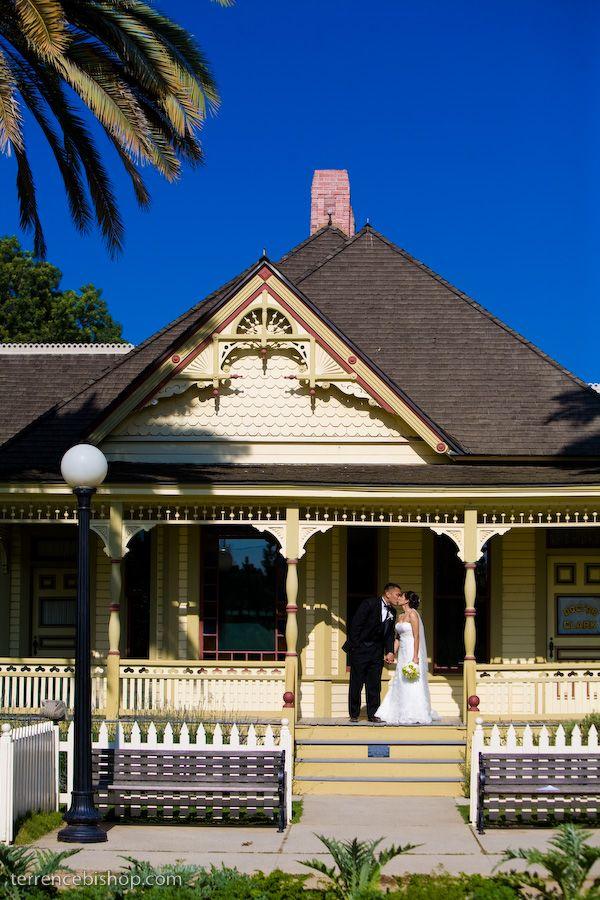 Wedding At The Fullerton Arboretum Wedding Venues Orange