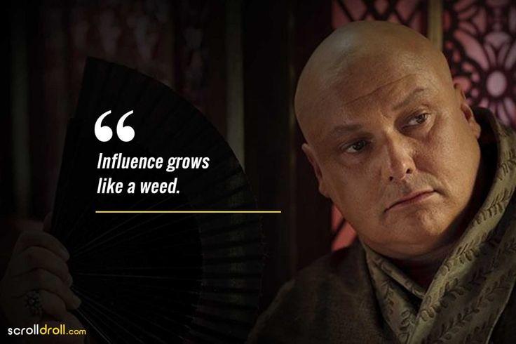 Einfluss wächst wie ein Unkraut-Lord Zitate variiert