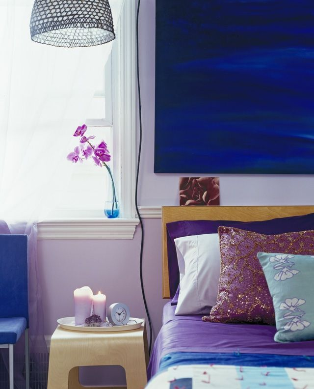 1000+ Ideas About Blue Purple Bedroom On Pinterest