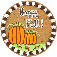 great american cookies fall cookie cake design