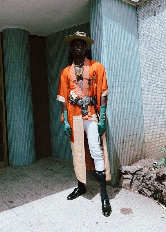 """Ibrahim Kamara's """"2026"""" at Somerset House, shot by Kristin-Lee Moolman"""