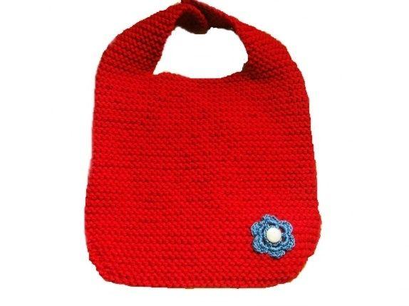 Rød babysmekke