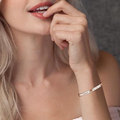 SOUFEEL Rosa Gold Armband mit Gravur - SOUFEEL