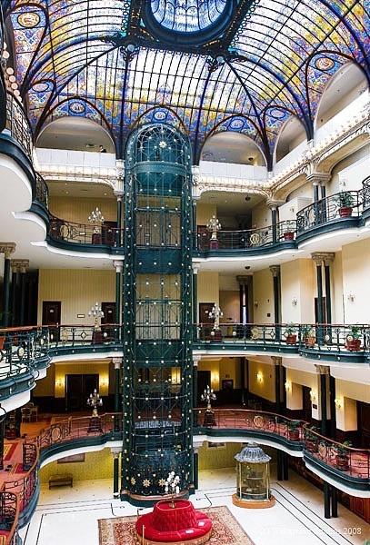 Gran Hotel, Ciudad de Mexico | Architecture & Interiors ...