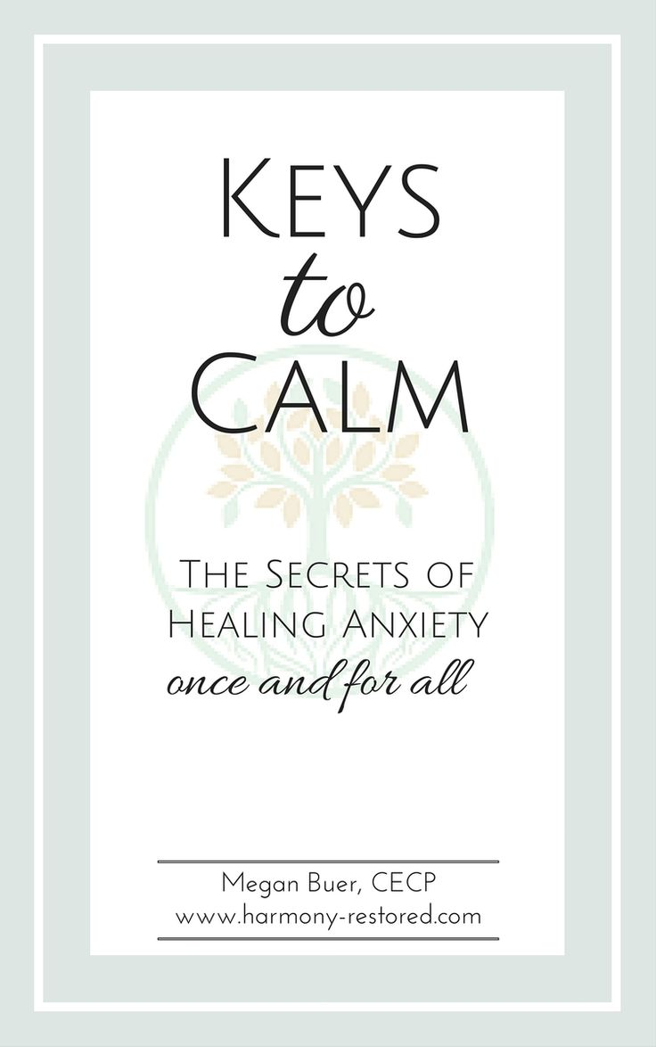 This post is an excerpt from my e-book,Keys To Calm, which is all about  naturally healing anxiety with mind-body tools, nutrition, and natural  remedies.   Acute anxiety or panic can look different for everybody. For some, it's  the classic heavy breathing, sweaty palms, heart racing type of anxiety you  see in the movies. For others, it can be silent. Feeling overwhelmed and  frozen. It can even come out as anger, rage, or frustration.   No matter what it looks like, it's imperative…