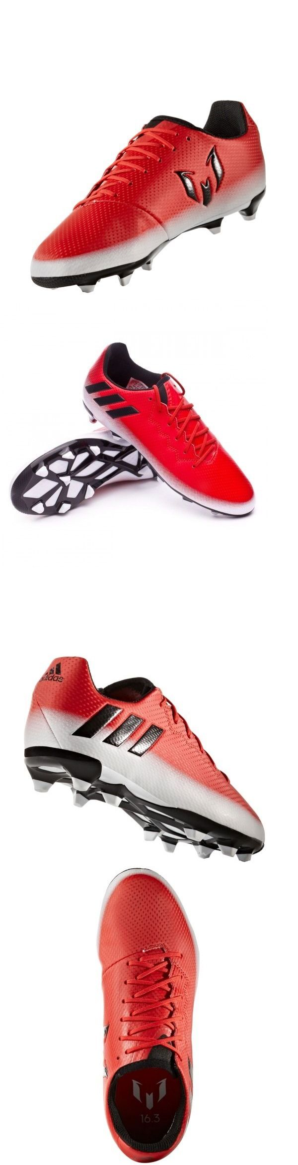 Youth 159177: Adidas 2016 Messi 16.3 Fg Junior Soccer Cleats Shoes Kids Youth Red -> BUY IT NOW ONLY: $48 on eBay!