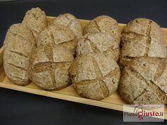 Panini con farina di farro,segale e orzo