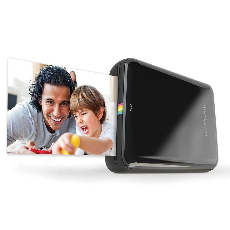 Polaroid ZIP Mobile Printer, Black