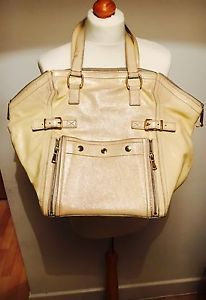 Large Cream YSL Downtown Bag | eBay | My wardrobe for sale | Pinterest