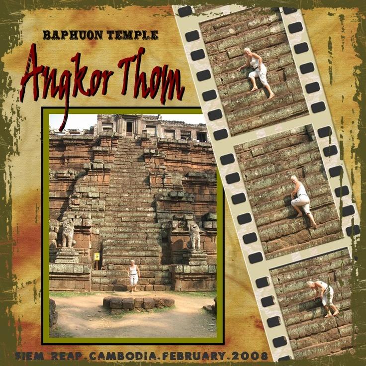 Baphuon Temple~Angkor Thom - Scrapbook.com