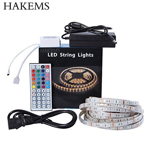 Specifications: - LED type: SMD #5050 - LED quantity: 300 LED - Strip length: 5m(16.4ft ) - Light color: RGB (Red Green Blue) Flash SMD LED - #Viewing angle: 120...
