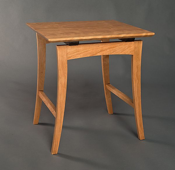 Nanette Side Table by David Kellum: Wood Side Table available at www.artfulhome.com