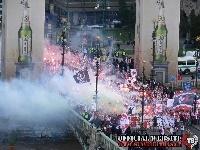 Sparta - SLAVIA, 23th round, fans parade