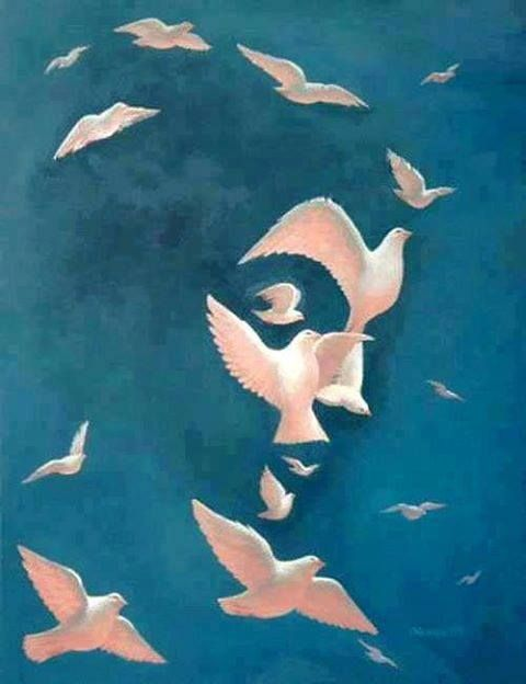 Octavio Ocampo~Dove and Peace                              …