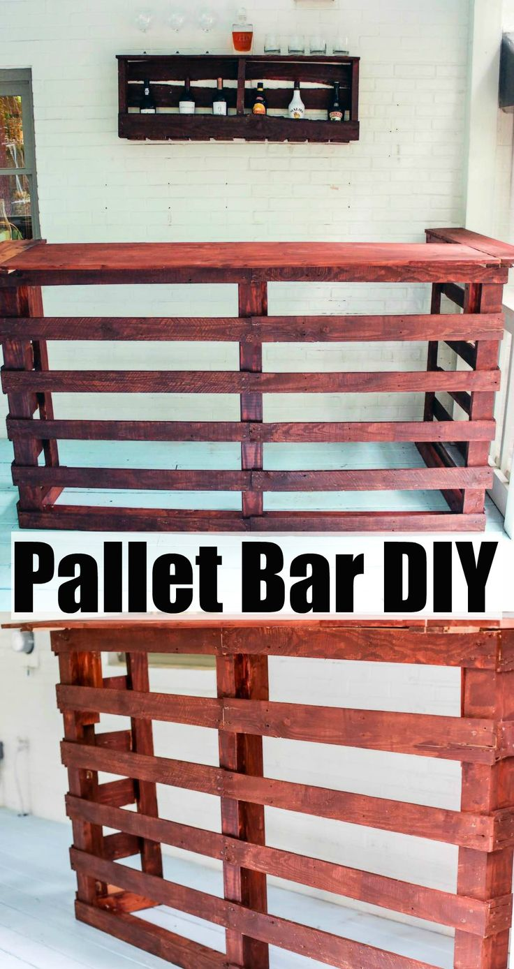 Pallet Bar DIY | Happily Hughes