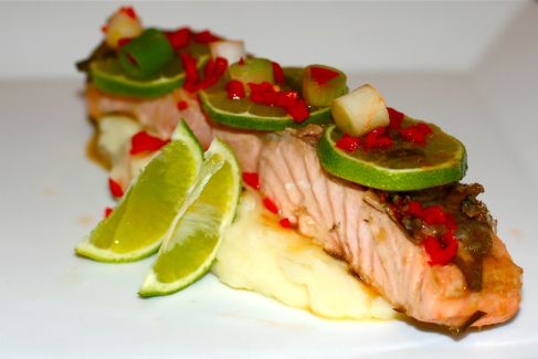Thai Salmon Recipe  http://inthemoodforfoodbyjay.wordpress.com