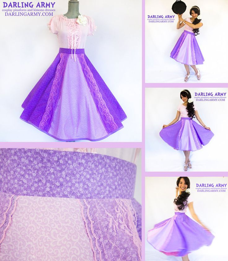 Rapunzel Tangled Disneybound Retro Cosplay Skirt by DarlingArmy on DeviantArt