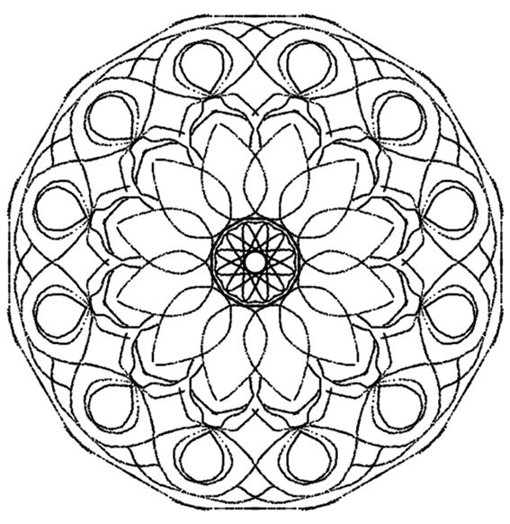12 best coloriage du carnaval images on pinterest - Mandalas adultes gratuits ...