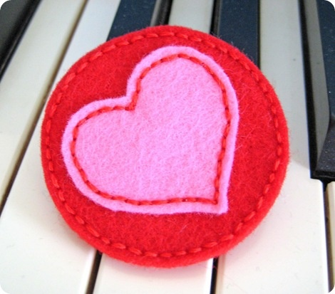 valentine day ideas felt pin for s day diy s day 10051