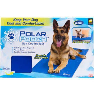 As Seen On Tv Polar Pooch Self Cooling Mat Pet Cooling Mat Dog