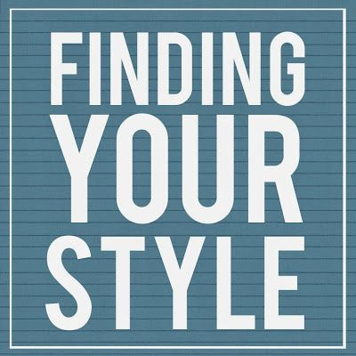 Calculating Blessings: 31 Days of Goodwill Style - Day 8 - Finding Your Style