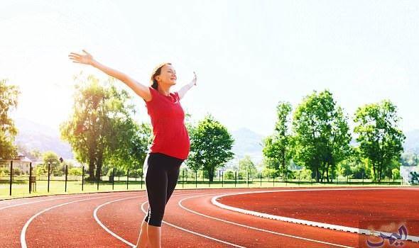 دراسة تعلن عن فوائد ممارسة الجري أثناء الحمل Running Field Sports