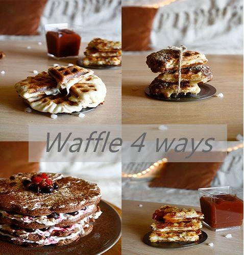Waffle 4 ways