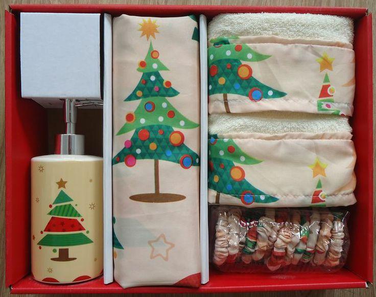 32 best ideas about Christmas Shower Curtain Set on Pinterest ...