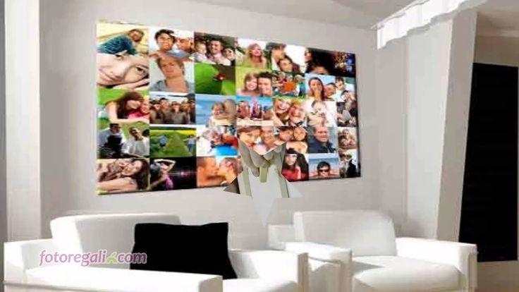 http://www.fotoregali.com/collage-fotografico-su-tela.aspx  Crea un collage su tela direttamente con le tue foto. Carica da 2 a 61 foto direttamente online e racconta le tue emozioni!