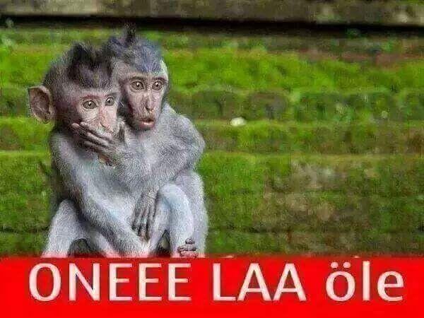 ONEEE LAA öle... :)   #mizah #matrak #espri #komik #şaka #gırgır #sözler #güzelsözler #komiksözler #caps