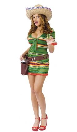 Costume de Serveuse Mexicaine
