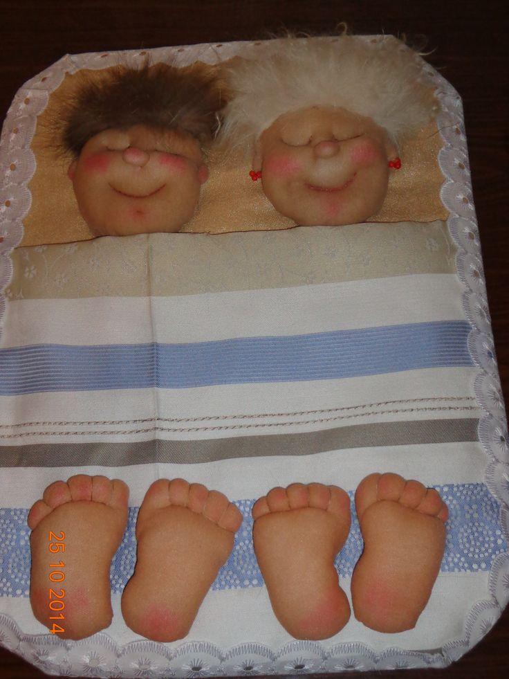Эти куколки, супружеская пара привлекут счастливую семейную жизнь, радость, верность и взаимную заботу и понимание!