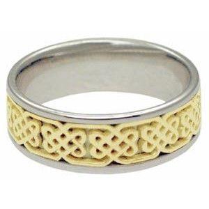 14kt White Gold Value Ring - Intricate Designer Pattern