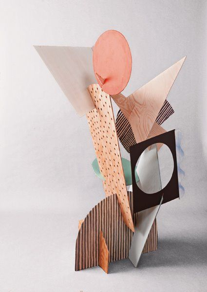 sculpture with shapes