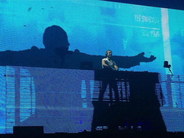 Armin van Buuren live at Creamfields in Abu Dhabi on December 7th, 2012. Photo by 'qulaghassii'.