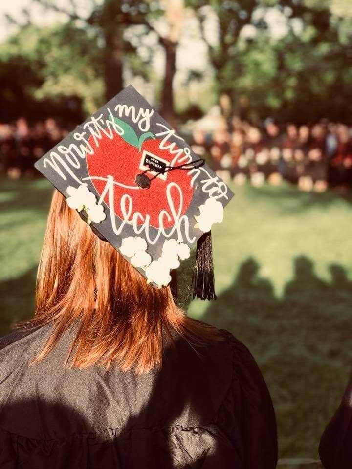 College Graduation Cap #Teacher # Love #My Turn