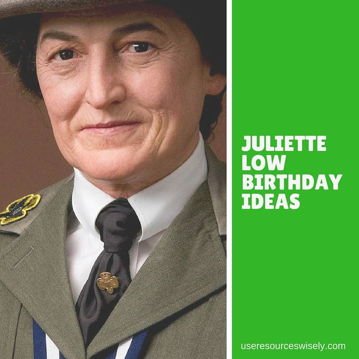 Celebrating Juliette Gordon Low's birthday in October was a great way for our Brownie troop to earn their Girl Scout Way badge and help Daisies meet their bridging requirements.
