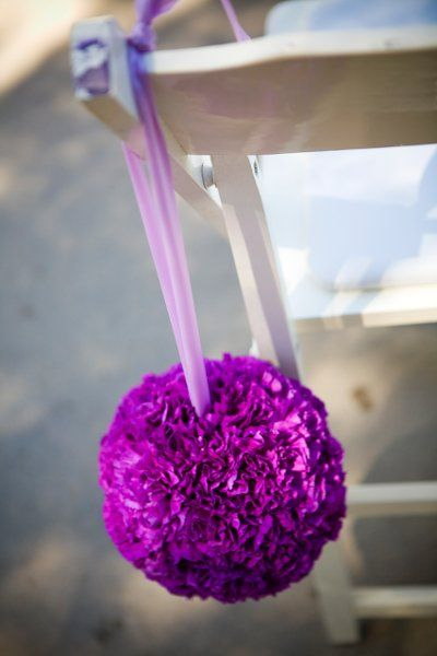 Pink Purple Centerpiece Fall Spring Summer Winter Wedding Flowers Photos & Pictures - WeddingWire.com