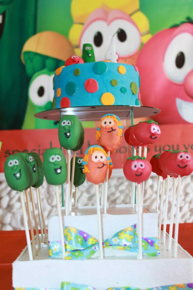 My Party: VeggieTales Birthday - 4 years / Festa Os Vegetais - 4 anos